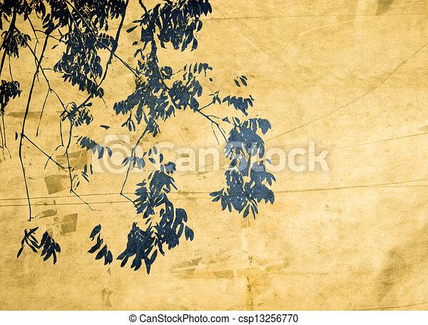 Multicolor foliage background   - csp13256770