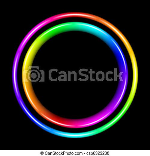 Multicolor spectral circle - csp6323238