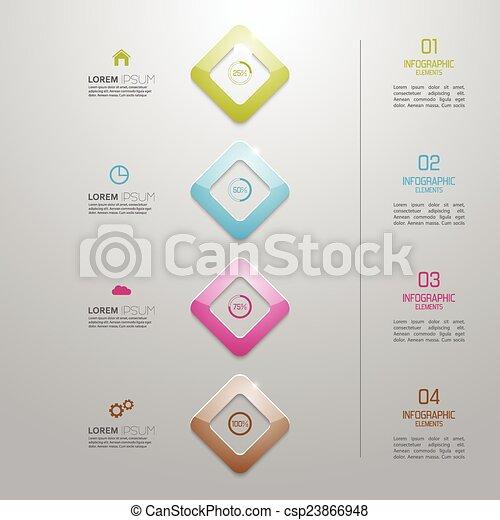 multicolore, signs., preform, plastique, nombres - csp23866948