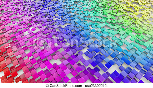 multicolored abstract background - csp23302212