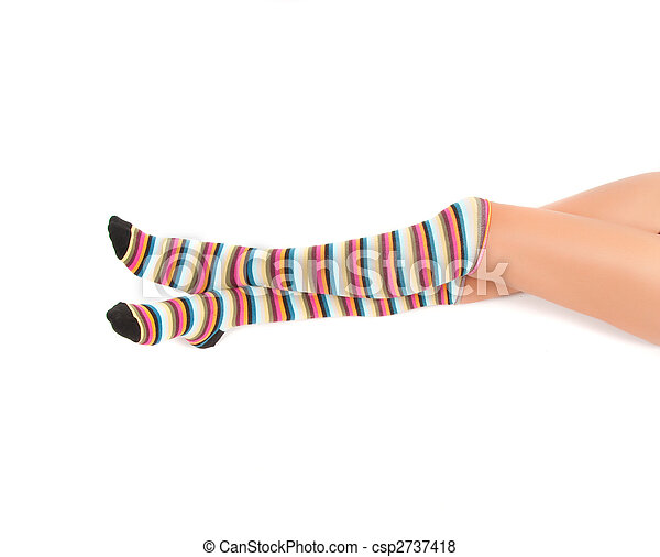 Multicolored stockings  - csp2737418