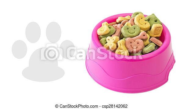Multicoloured dog biscuits - csp28142062