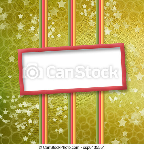 multicoloured holiday frames for greetings or invitations - csp6435551