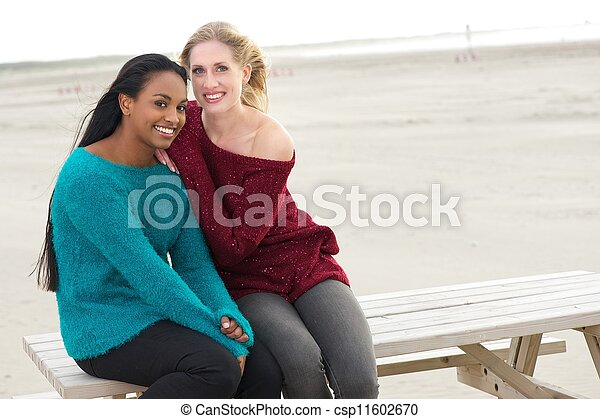 Multicultural Friends Laughing  - csp11602670