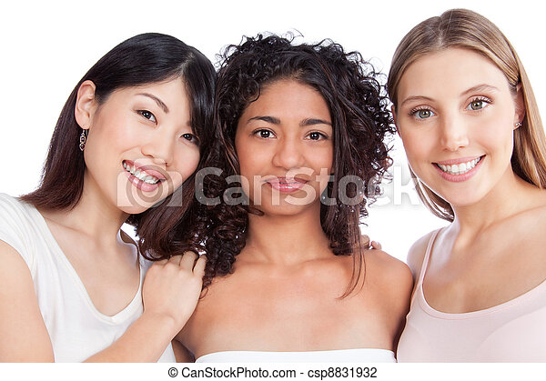 Multiethnic Group of Woman - csp8831932