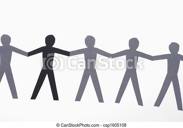 Multiethnic people - csp1605108