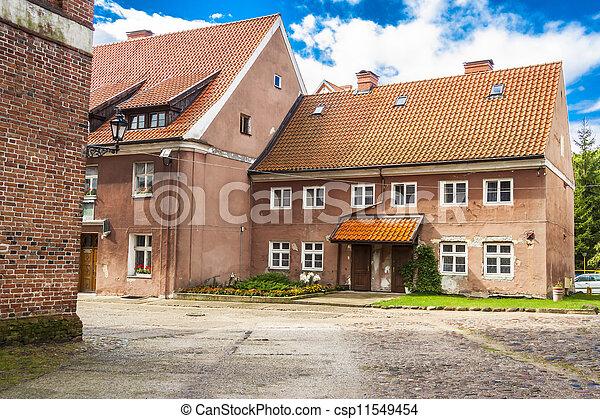 Multifamily house - Reszel, Poland. - csp11549454
