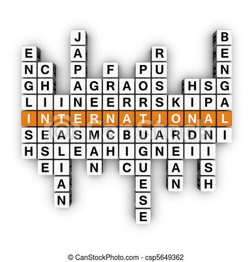 multilingual concept - csp5649362