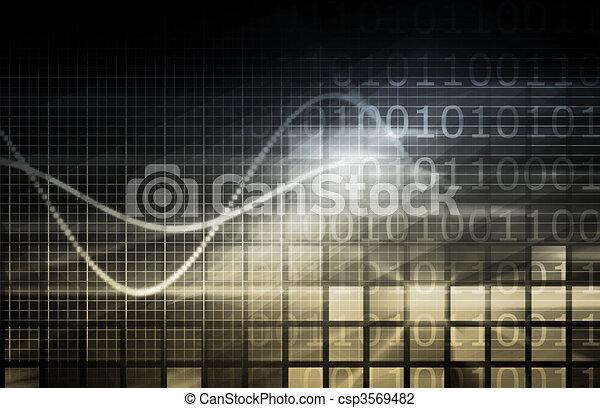 multimédia, digitális - csp3569482