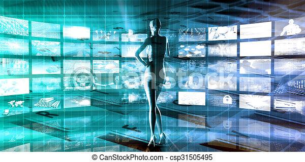 Multimedia Entertainment - csp31505495