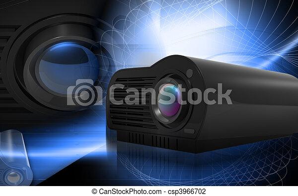 Multimedia Projector - csp3966702