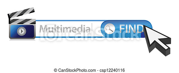 Multimedia search bar - csp12240116