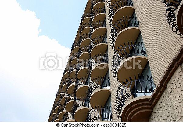 Multiple balconies 1 - csp0004625