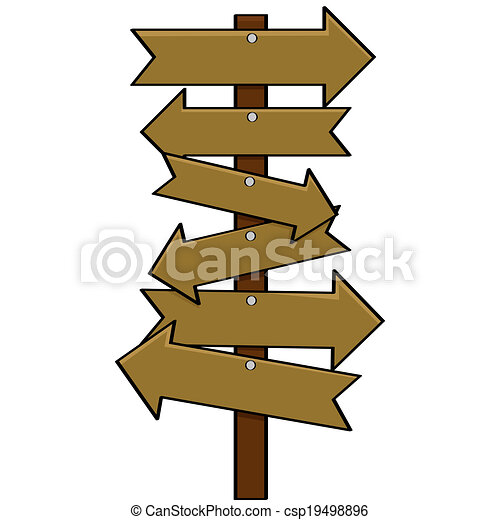 Christmas Arrow Signs.Multiple Signs