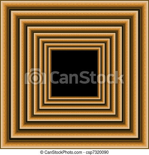 Multiple wooden photo frames. Multiple wooden photo frames isolated ...