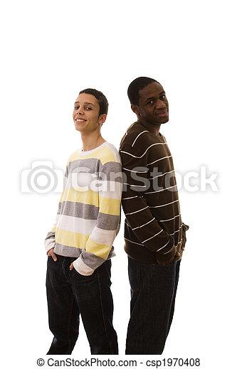 multiracial friends - csp1970408