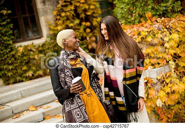 Multiracial friends - csp42715767