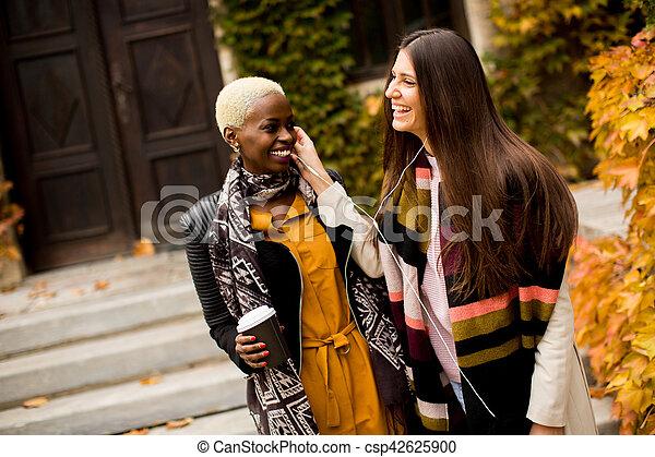 Multiracial friends - csp42625900