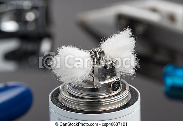 Multistrand Ribbon Fused Clapton on a dripper gold - csp40637121