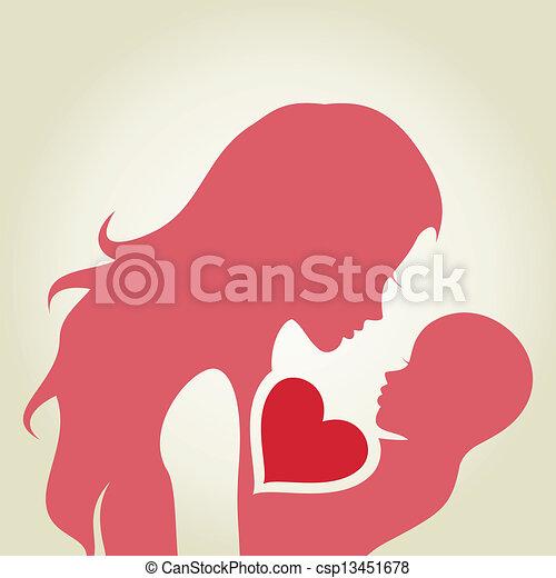 Mum and baby - csp13451678