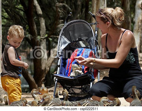 mum and son - csp0222511