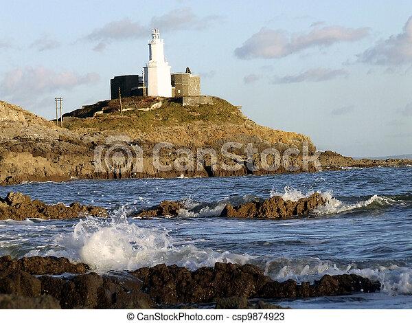 Mumbles Lighthouse - csp9874923