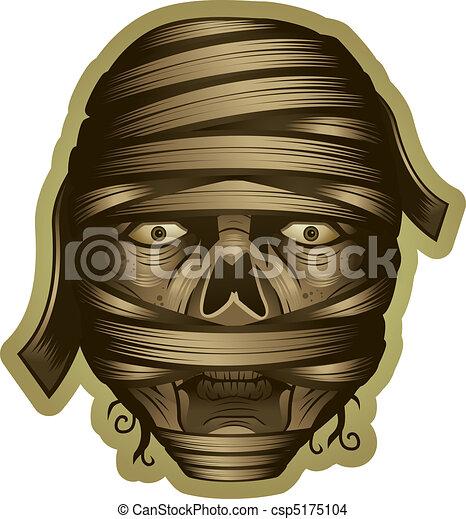 Mummy Clipart Mummy Head , Free Transparent Clipart - ClipartKey