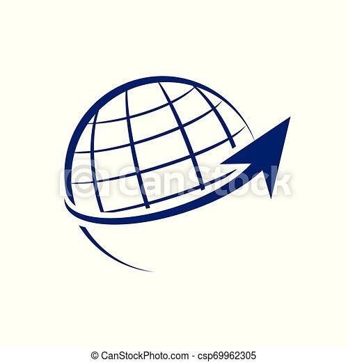 Diseño de flechas de crecimiento mundial - csp69962305