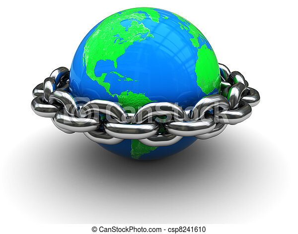 Mundo cerrado - csp8241610