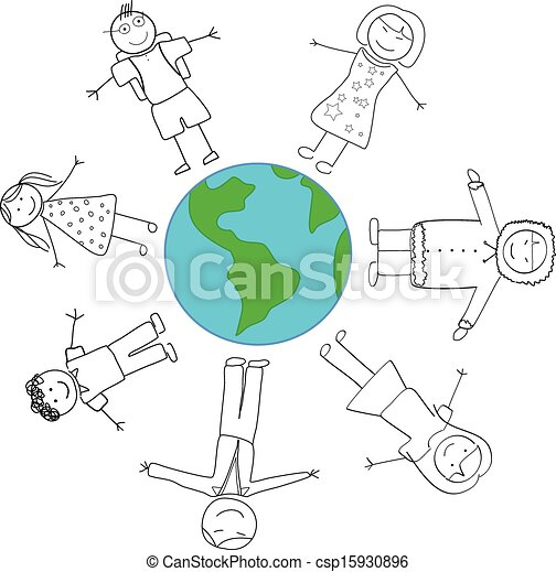 mundo, conceito, paz - csp15930896
