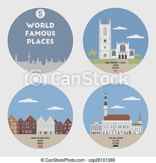 Lugares famosos. Set 5 - csp26101369