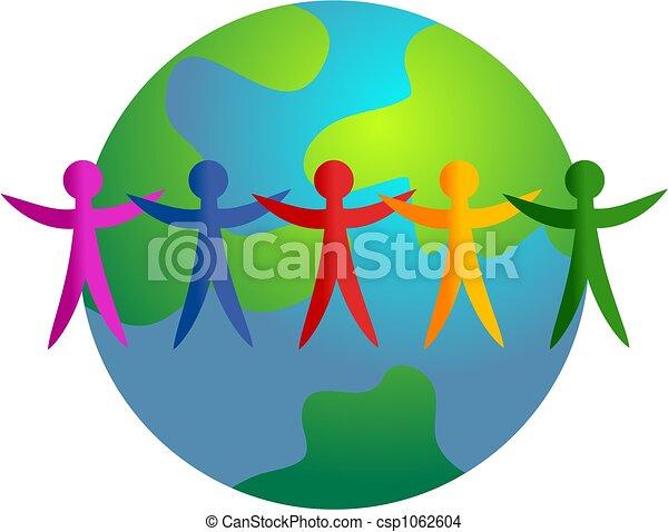mundo, diverso - csp1062604