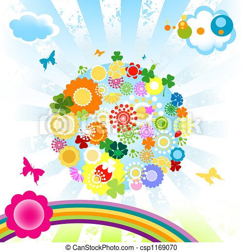 mundo, feliz - csp1169070