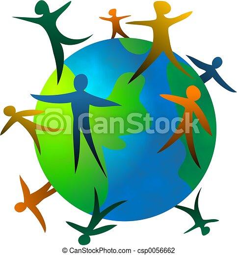 Gente del mundo - csp0056662