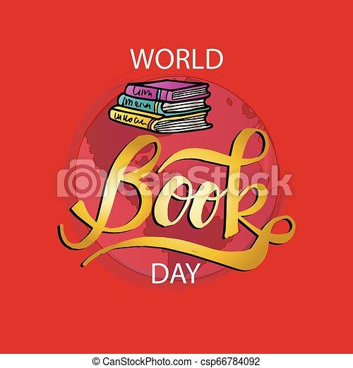 El día del libro del mundo - csp66784092