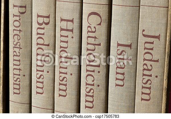 mundo, mayor, religiones - csp17505783