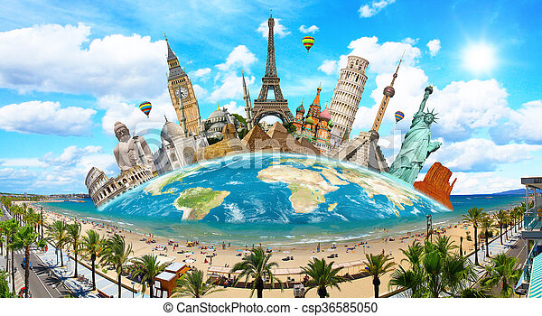 Monumentos del mundo - csp36585050