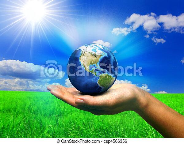 mundo, natureza - csp4566356