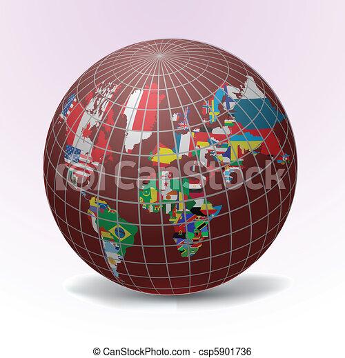 Todas las banderas del mundo - csp5901736