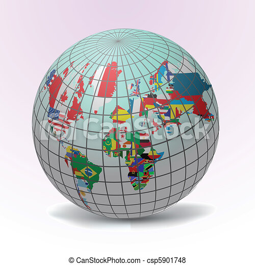 Todas las banderas del mundo - csp5901748