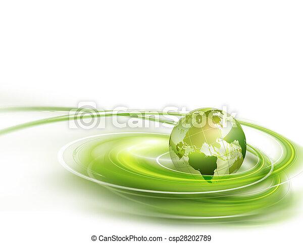 mundo, verde - csp28202789