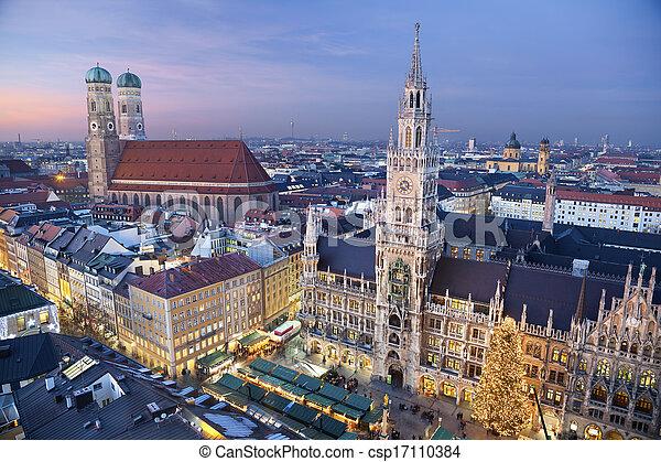 Munich, Alemania. - csp17110384