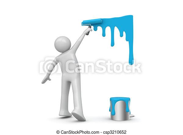 munka, szobafestő - csp3210652