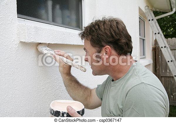 munka, szobafestő - csp0367147