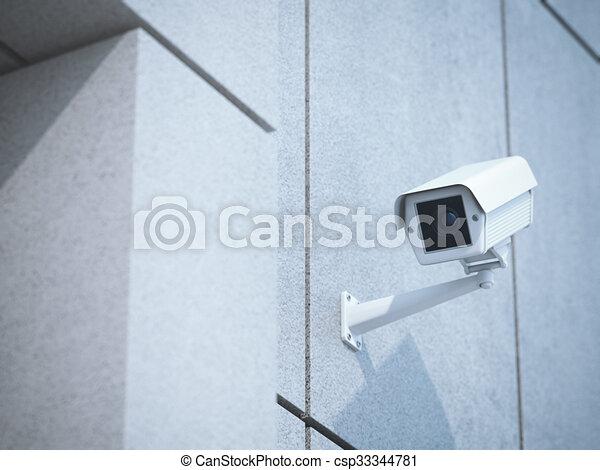 Mur béton blanc appareil photo bureau bureau béton wall