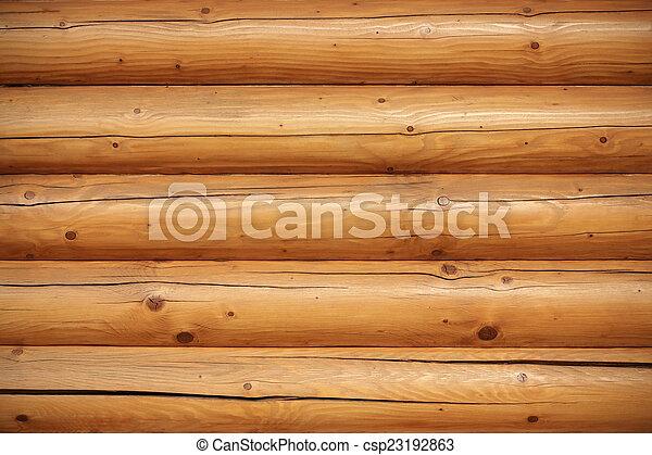 Mur Bûche Texture Sauna