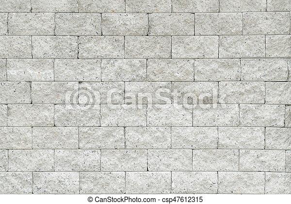 Mur, Brique Blanche   Csp47612315
