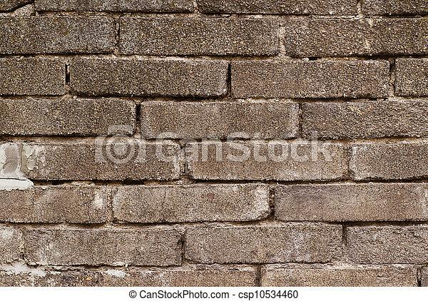 stock image de mur brique gris fond b timent tre utilis mur csp10534460. Black Bedroom Furniture Sets. Home Design Ideas