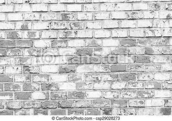 mur, brique - csp29028273