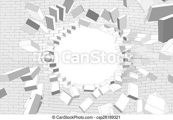 Dessin Trou Dans Le Mur - Gamboahinestrosa